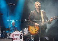 Element Of Crime live im Hamburger Stadtpark 2016