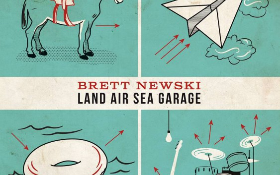 Brett Newski: Land Air Sea Garage – Album Review