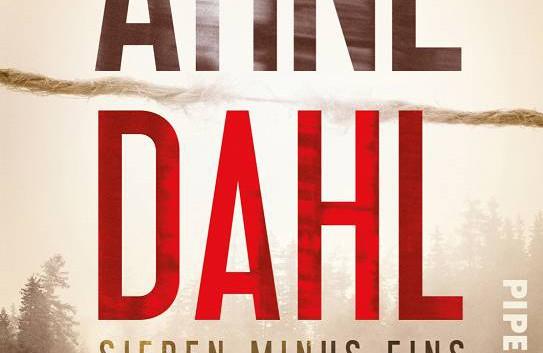 Arne Dahl: Sieben minus eins – Kriminalroman