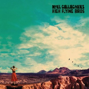 Sounds & Books_Noel Gallaghers's High Flying Birds_Who Built The Moon_Cover