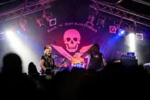 Bambix auf der Rock 'n' Roll Butterfahrt