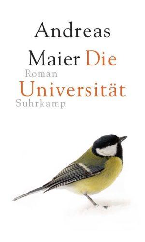 Andreas Maier Die Universität Cover Suhrkamp Verlag