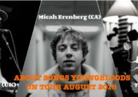 Die Youngbloods-Tour von About Songs mit Jon Kenzie, The Wooden Wolf und Micah Erenberg live im August und September 2018