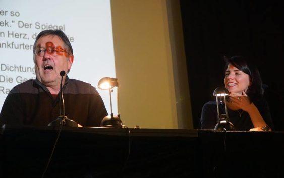 Buchbesprechungstag in Hamburg mit Karla Paul und Rainer Moritz