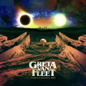 Greta Van Fleet Anthem Of The Peaceful Army Cover Republic Records