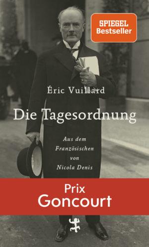Eric Vuillard Die Tagesordnung Cover Matthes und Seitz