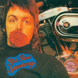 Paul McCartney und Wings Red Rose Speedway Vinyl Cover Capitol Records