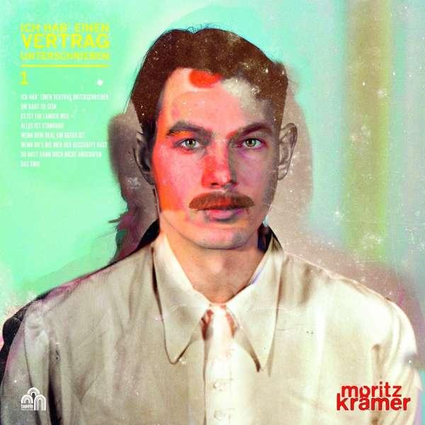 Moritz Krämer Ich hab einen Vertrag unterschrieben Cover Tapete Records