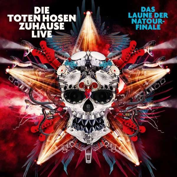 Die Toten Hosen Zuhause Live Das Laune der Natour Finale Cover JKP