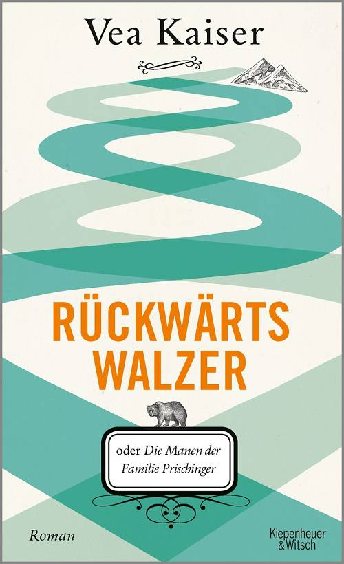 """Vea Kaiser """"Rückwärtswalzer"""" Cover Verlag Kiepenheuer & Witsch"""