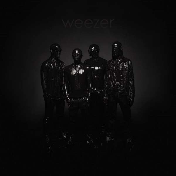 Weezer Black Album Cover Atlantic Records