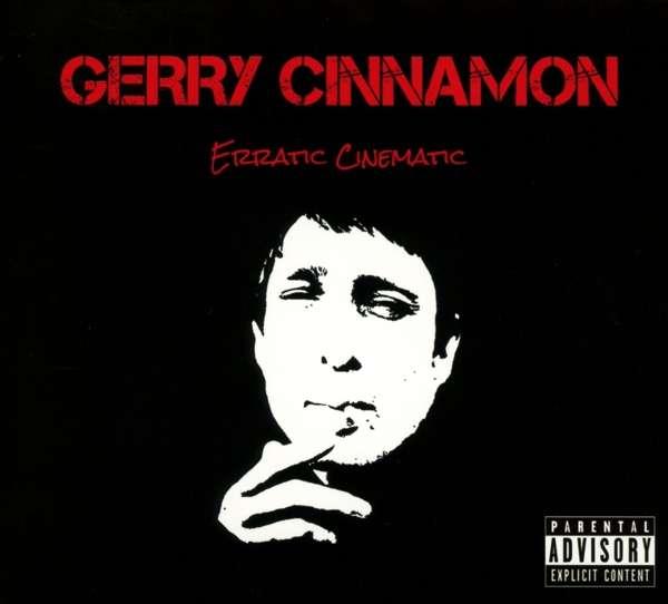 Gerry Cinnamon Erratic Cinematic Cover Kobalt
