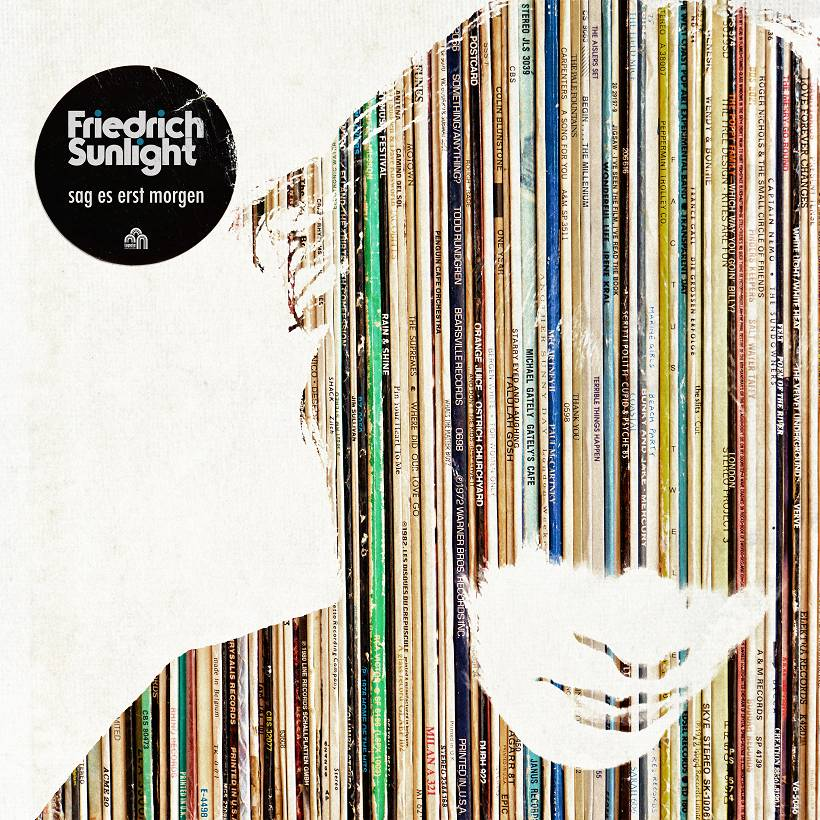 Friedrich Sunlight Sag es erst morgen Albumcover Tapete Records