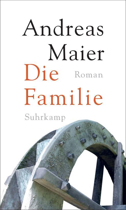 Andreas Maier Die Familie Buchcover Suhrkamp Verlag