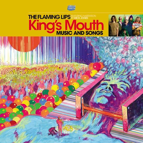 The Flaming Lips Kings Mouth Cover Bella Union