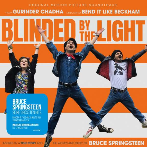 Blinded By The Light Soundtrack Cover Columbia Records