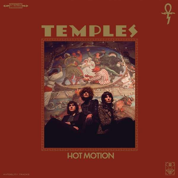 Temples Hot Motion Cover ATO Records