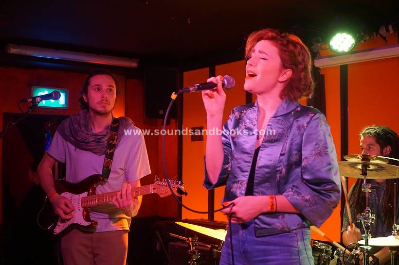 Moa McKay And The Flying Cabaret live Molotow SkyBar by Gérard Otremba