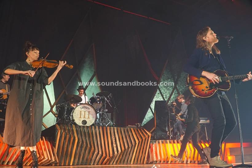 The Lumineers live in Hamburg 2019 Sporthalle by Gérard Otremba