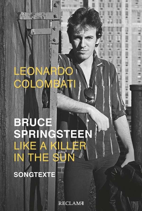 Leonardo Colombati Bruce Springsteen Songtexte Cover Reclam Verlag