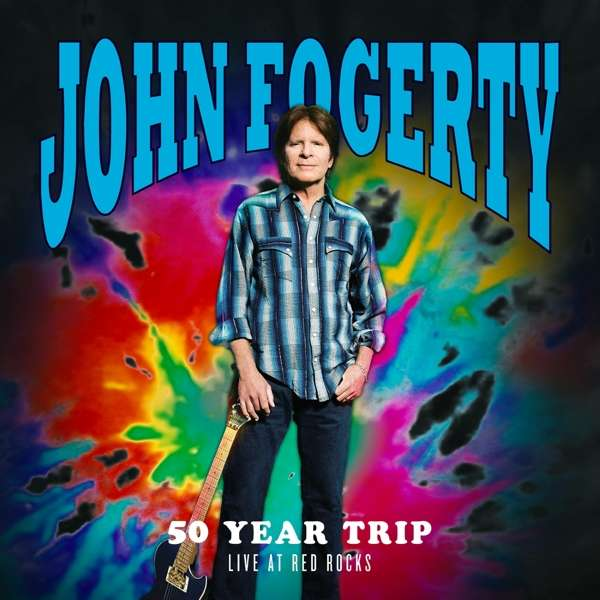 John Fogerty 50 Year Trip Live At Red Rocks Cover BMG