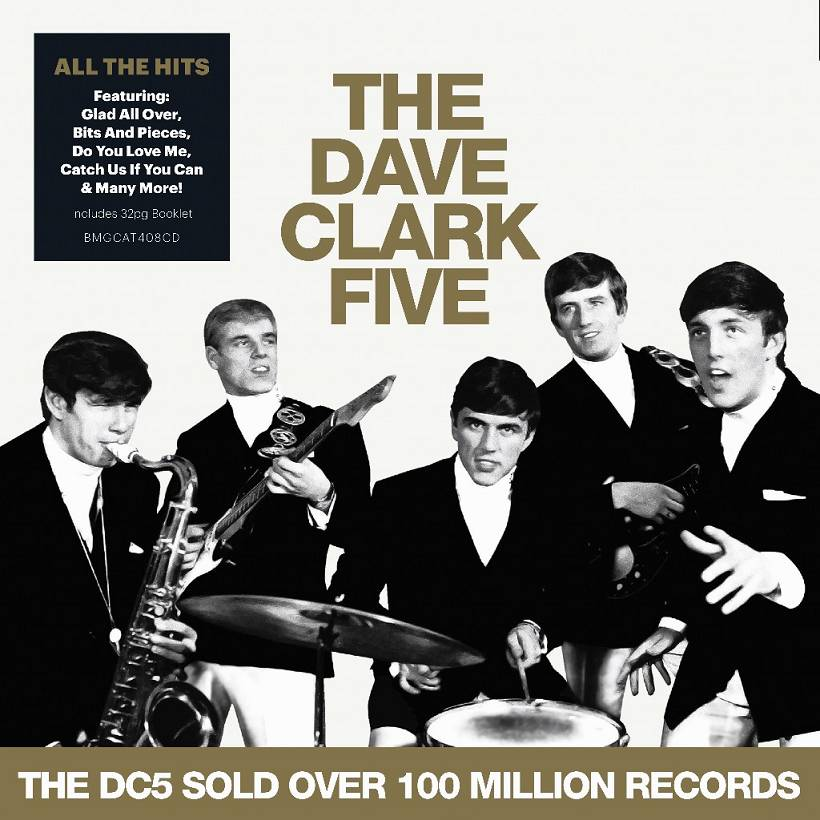 The Dave Clark Five All The Hits Cover BMG Warner Music