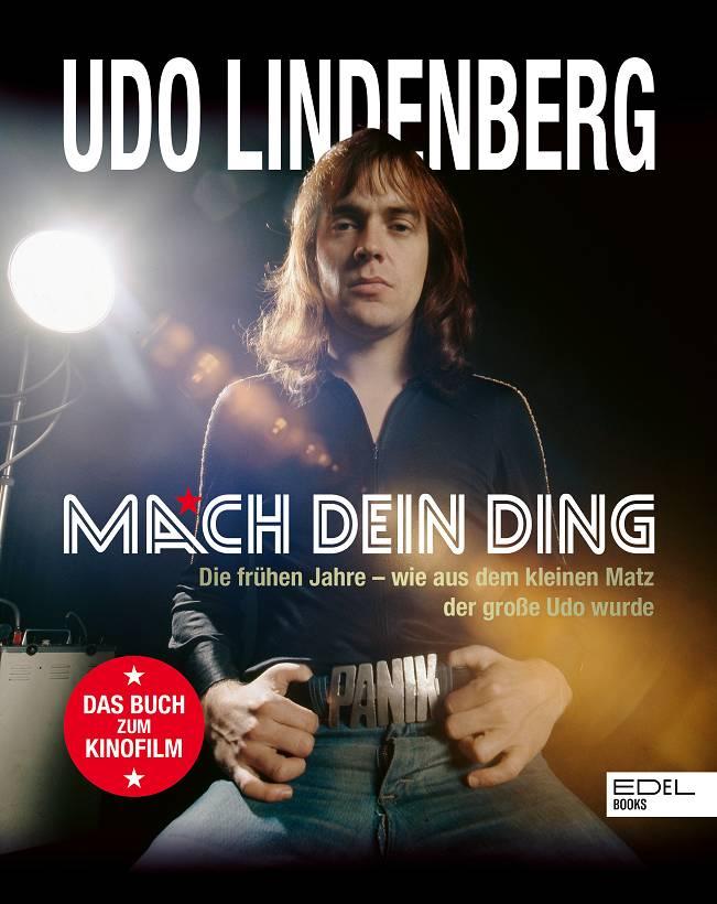 Udo Lindenberg Mach dein Ding Buchcover Edel Books