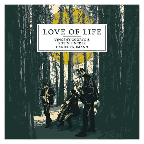 Vincent Courtois Love Of Life Cover ECM Records