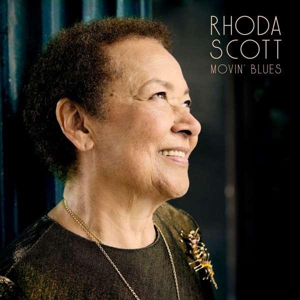 Rhoda Scott Movin' Blues Cover Sunset Records