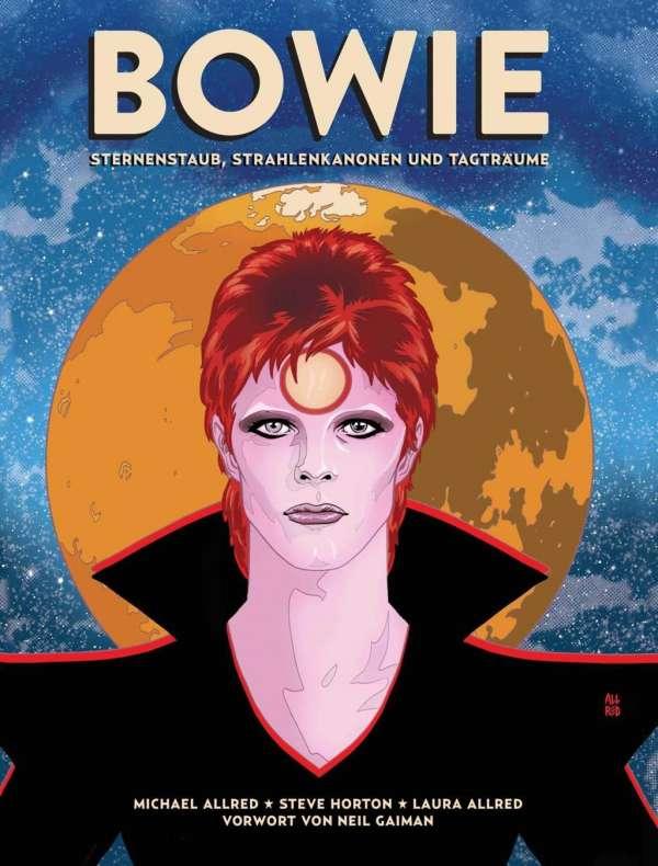 Bowie Sternenstaub Strahlenkanonen und Tagträume Cover Cross Cult
