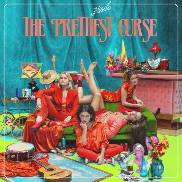Hinds The Prettiest Curse Cover Lucky Number Music
