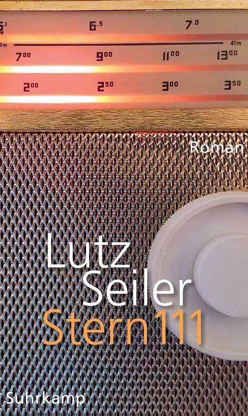 Lutz Seiler Stern 111 Cover Suhrkamp Verlag