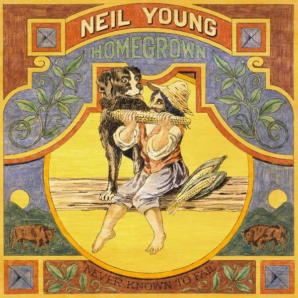 Neil Young Homegrown Cover Reprise Records
