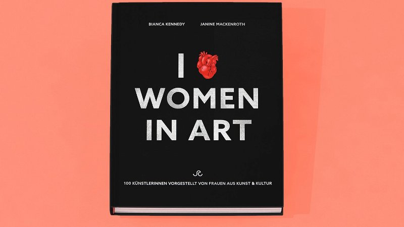 Bianca Kennedy Janine Mackenroth I Love Women in Art Cover