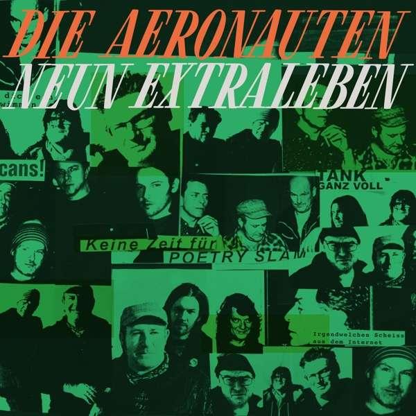 Die Aeronauten Neun Extraleben Cover Tapete Records