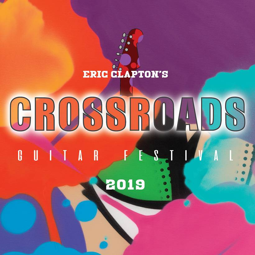 Eric Clapton Crossroads Guitar Festival 2019 Cover Rhino Warner Music