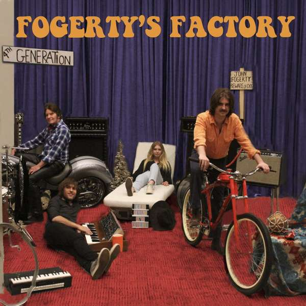 John Fogerty Fogertys Factory Cover BMG