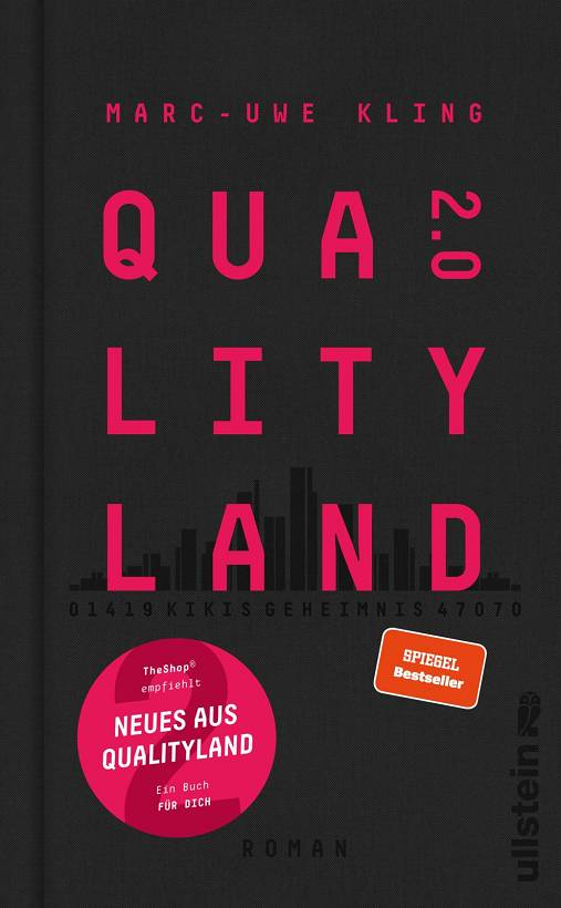 Marc-Uwe Kling QualityLand 2.0 Cover Ullstein