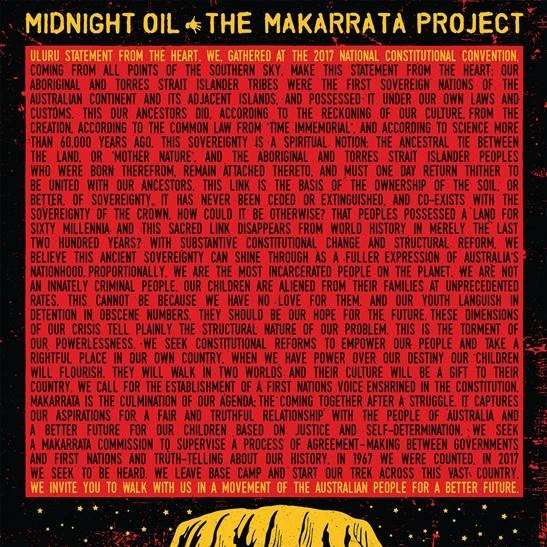 Midnight Oil The Makarrata Project Cover Sony Music