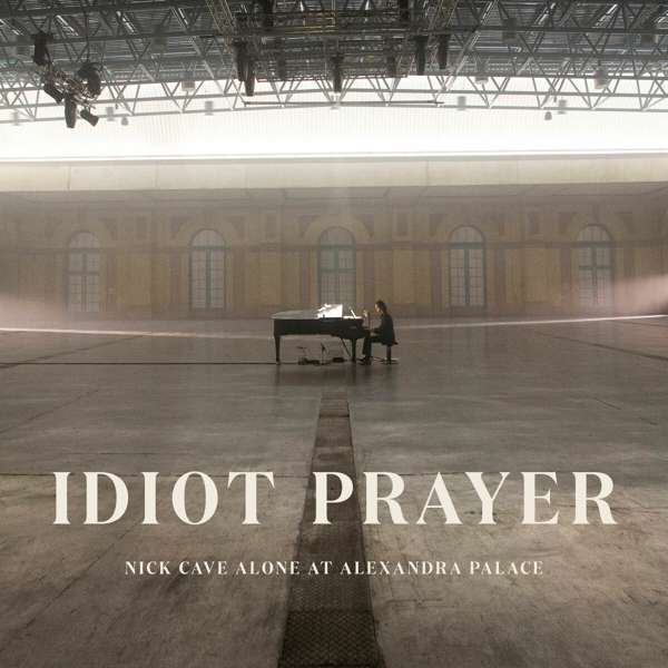 Nick Cave Alone At Alexandra Palace Cover AWAL