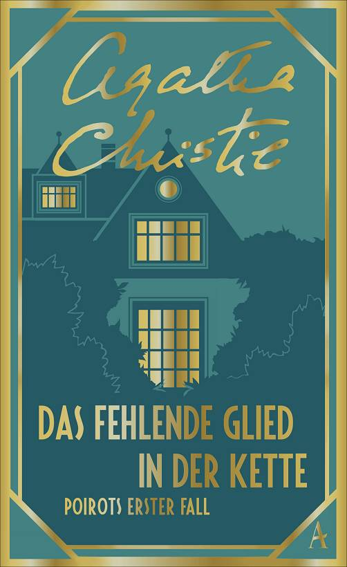Agatha Christie Das fehlende Glied in der Kette Cover Atlantik Verlag