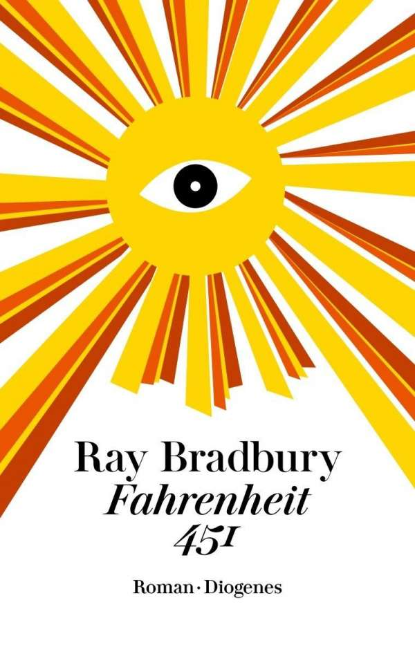 Ray Bradbury Fahrenheit 451 Cover Diogenes Verlag