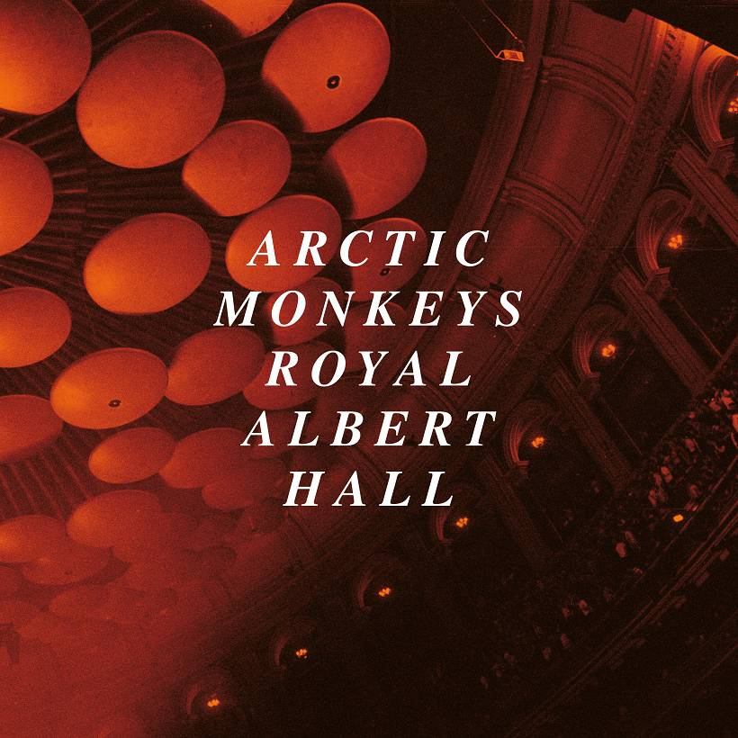 Arctic Monkeys Live At The Royal Albert Hall Cover Domino Records