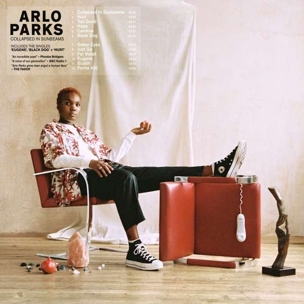 Arlo Parks Collapsed In Sunbeams Cover Transgressive Records