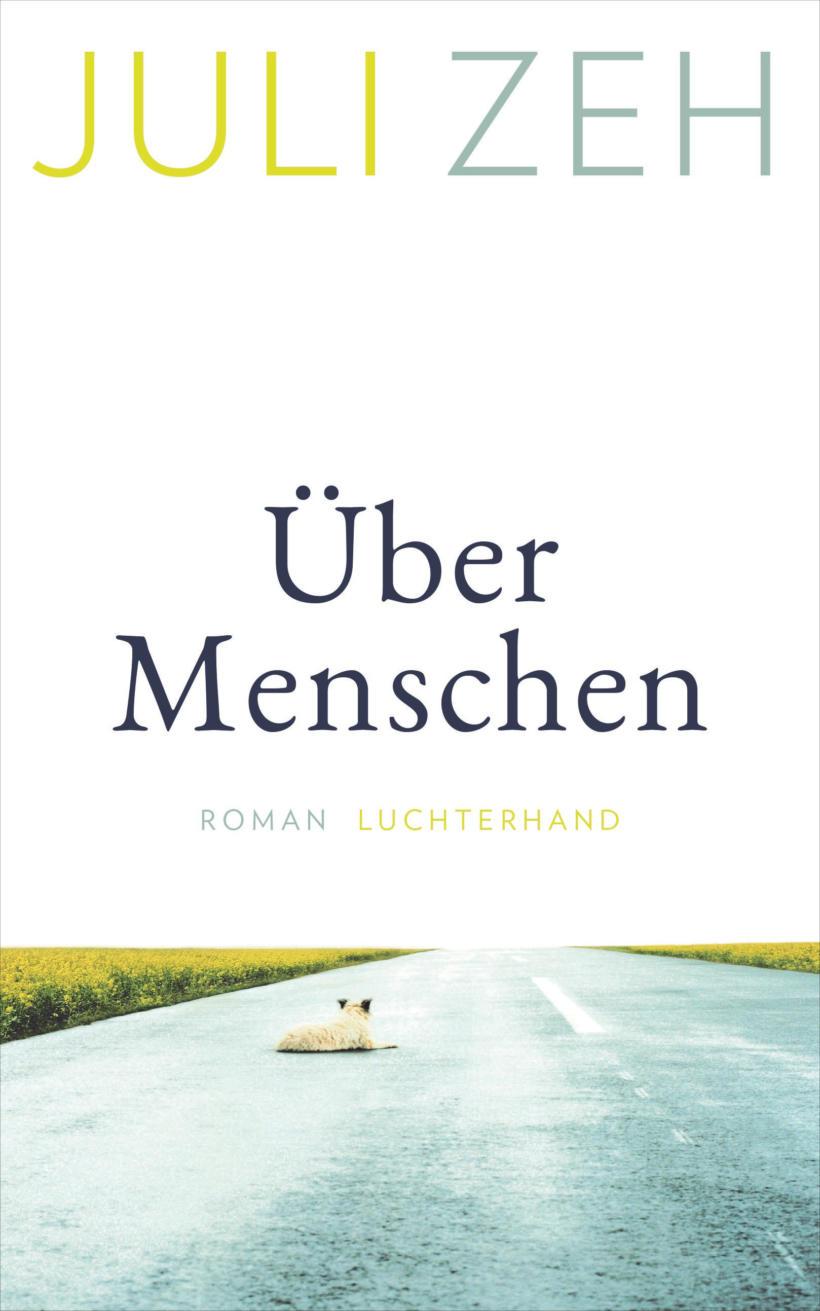 Juli Zeh Über Menschen Cover Luchterhand Verlag