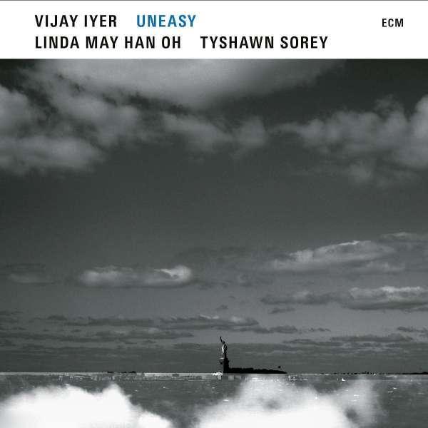 Vijay Iyer Uneasy Cover ECM Records