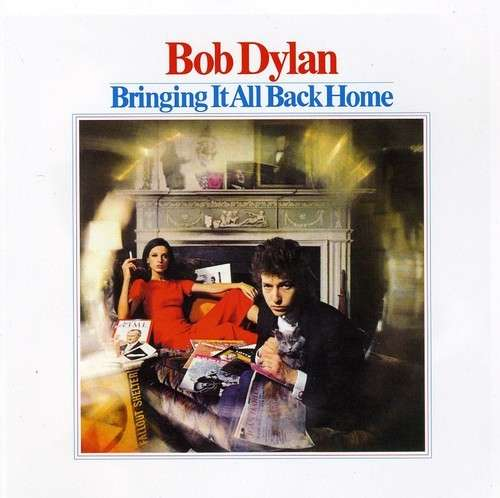 Bob Dylan Bringing It All Back Home Cover Columbia Reocrds