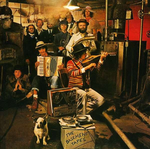 Bob Dylan The Basement Tapes Cover Columbia Records