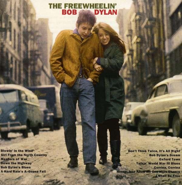 Bob Dylan The Freewheelin' Bob Dylan Cover Columbia Records