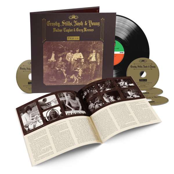 Crosby Stills Nash & Young Déjà Vu 50th Anniversary Deluxe Edition Rhino Records